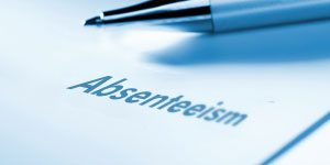 decrease staff absenteeism